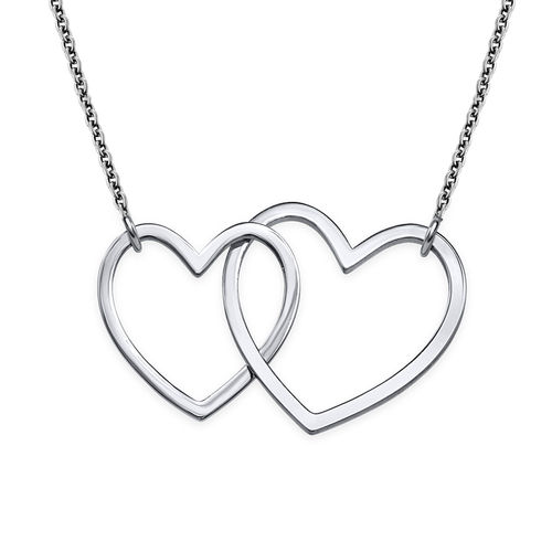 Holding Hearts necklace - Thin