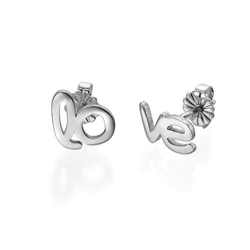 Hope and Love Stud Earrings - 1