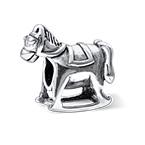 Horse Silver Bead
