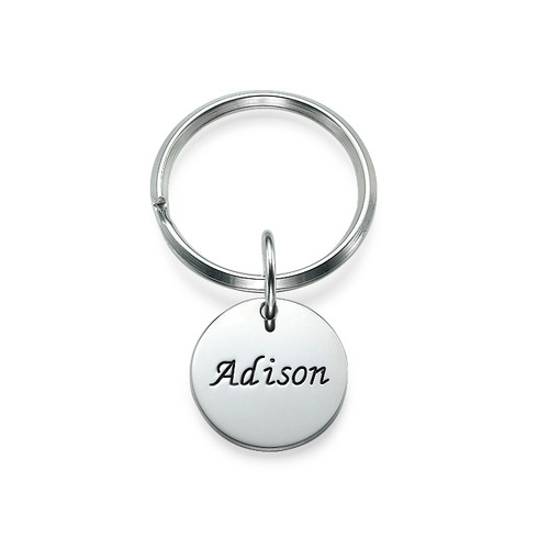 Custom Shaped Personalized Keychain - 1