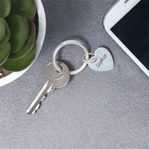 Custom Shaped Personalized Keychain - 3