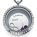 Infinite Love Floating Locket