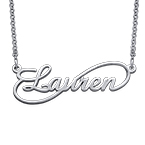 Infinity Style Name Necklace - Next Generation Collection