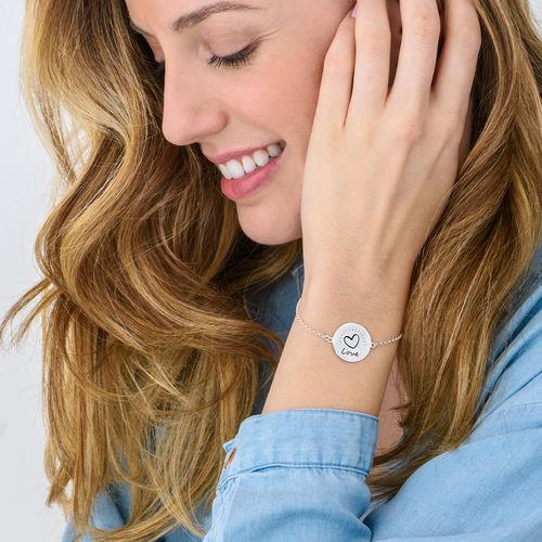 Inspirational Bracelet In Silver - 2