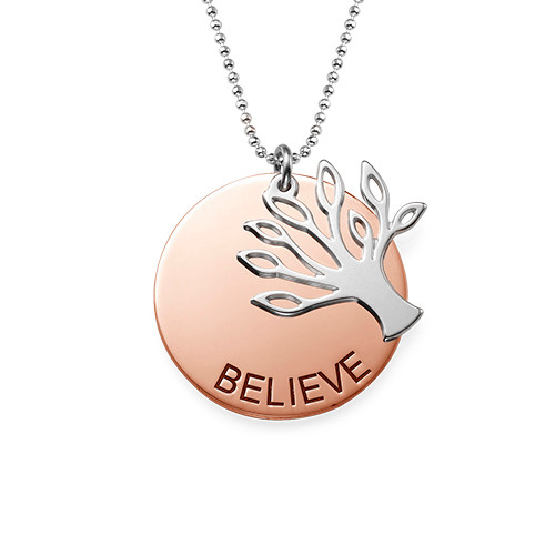 Inspirational Family Tree Necklace - 1
