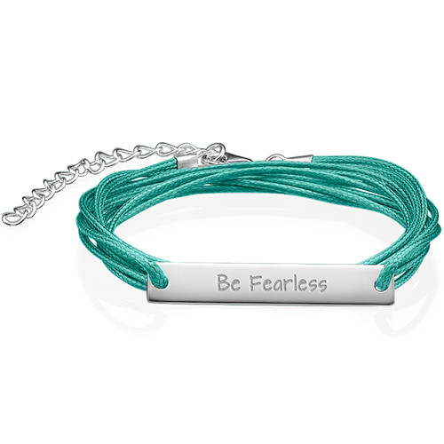 Inspirational Gifts Be Fearless Bracelet