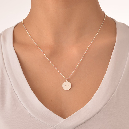 "Inspirational Jewelry - ""Wish"" Necklace - 1"