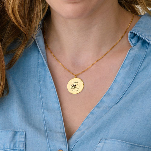 Inspirational Necklace In Gold Plating - 3