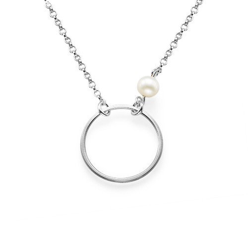 Karma Necklace in Sterling Silver