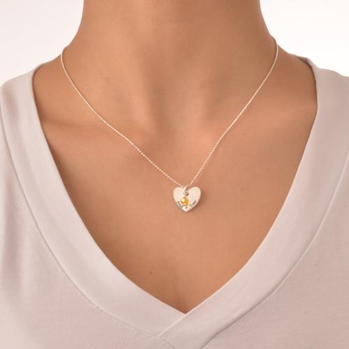 Love Between Mother & Daughters Necklace Set - 5