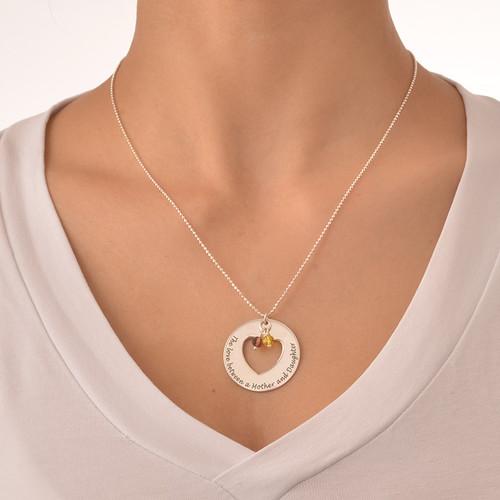 Love Between Mother & Daughters Necklace Set - 6