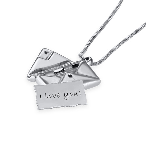 Love Envelope Necklace - 2