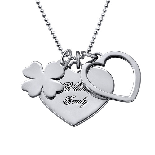 Lucky Love Necklace in Silver
