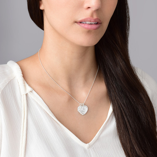 Lucky Love Necklace in Silver - 1