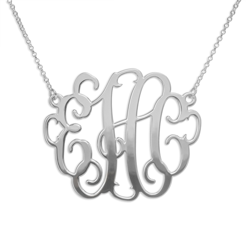 Mix & Match Monogram Ring & XXL Monogram Necklace Set - 1