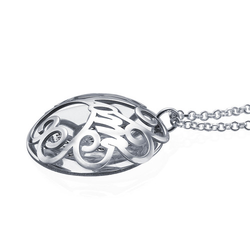 Mom Necklace with Back Engraving - 1