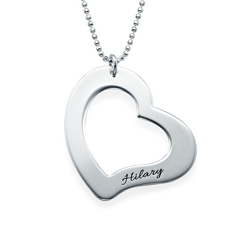 Mom is My Heart Mother Daughter Necklaces - 2