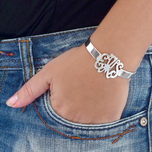 Monogram Cuff Bracelet - 1