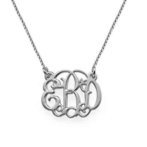 Monogram It: Monogram Necklace + Earrings - 2