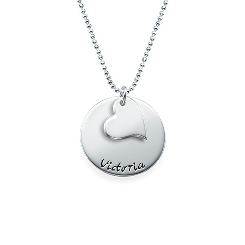 Mother Daughter Gift - Set of Three Engraved Necklaces - 2