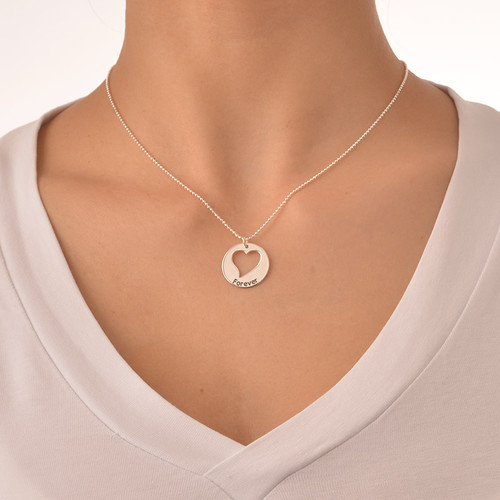 Mother Daughter Jewelry - Three Generations Necklace - 5