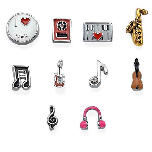 Music Charms for Lockets