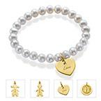 Pearl Charms Bracelet