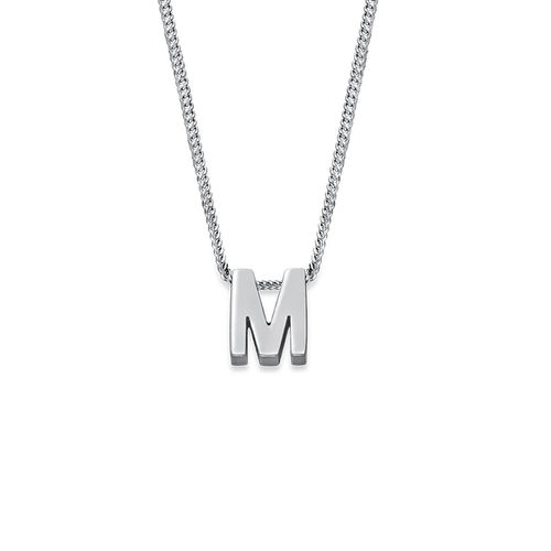 Personalized Couple Initial Necklace - 2