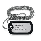 Fathers Day Presents - Personalized Dog Tag