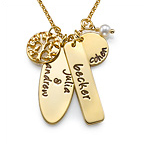 Personalized Family Tree Jewelry