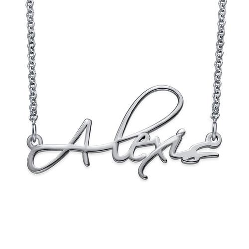 Signature Personalized Script Necklace