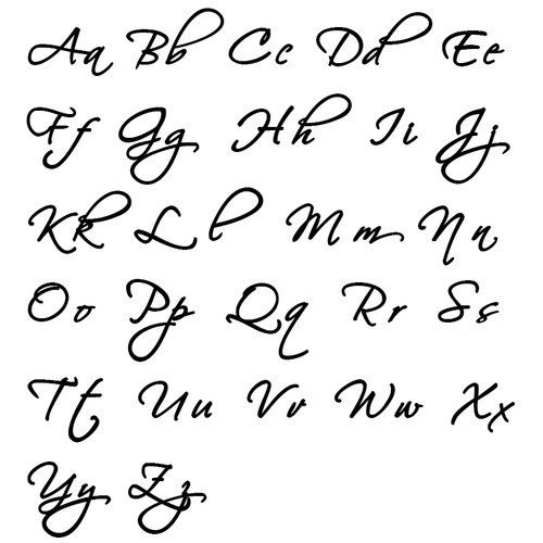 Signature Personalized Script Necklace - 1