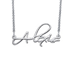 Signature Personalized Script Necklace