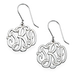 Premium Monogram Earrings