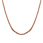 Rope Chain - Rose Gold Plated