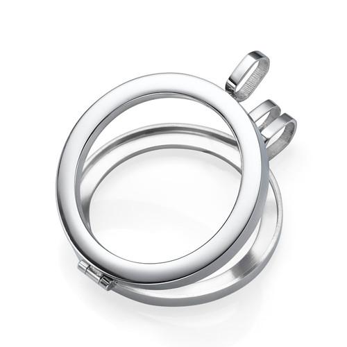 Silver Coin Locket - 1