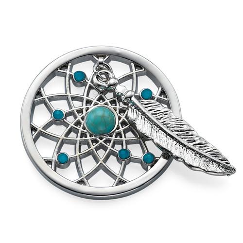 Silver Dreamcatcher Coin