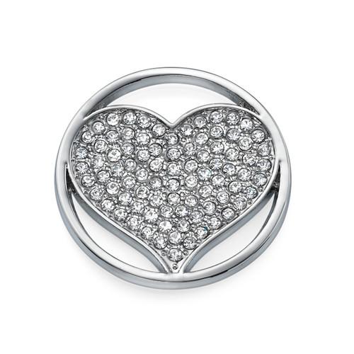 Silver Heart Coin