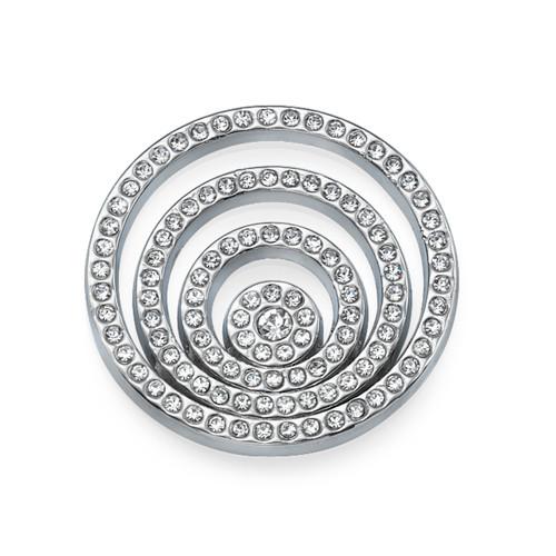 Silver Spiral Coin