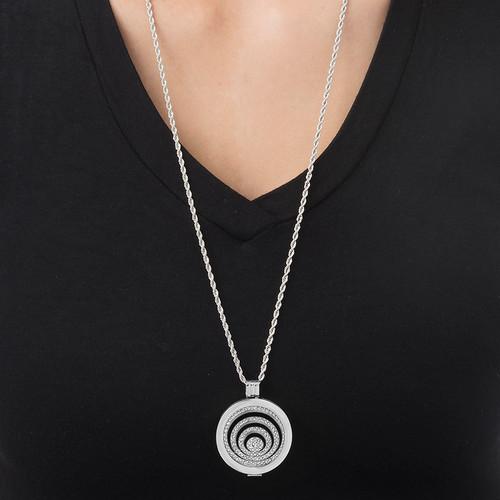 Silver Spiral Coin - 1