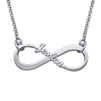 Single Name Infinity Necklace