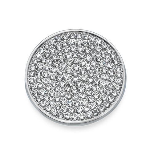 Sparkling Silver Coin