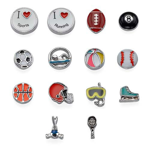 Sport Charms for Lockets
