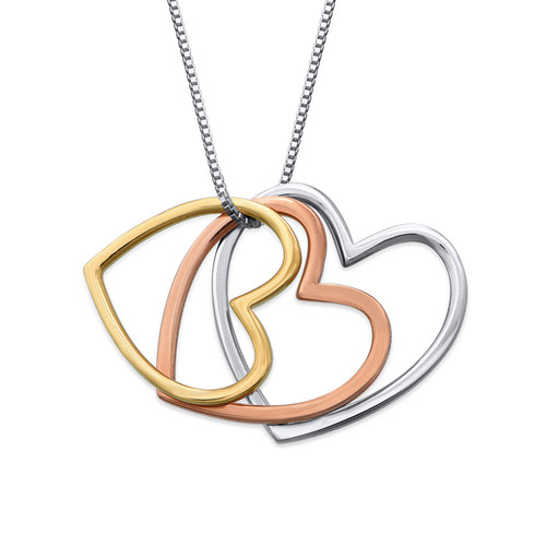 Stack of Hearts necklace