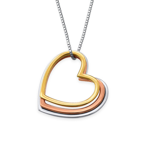 Stack of Hearts necklace - 1