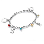 Mother's Charms Bracelet