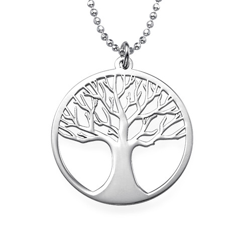 Sterling Silver Tree of Life Necklace