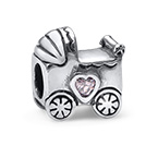 Stroller Silver Bead