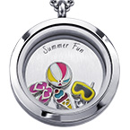 Summer Fun Floating Locket