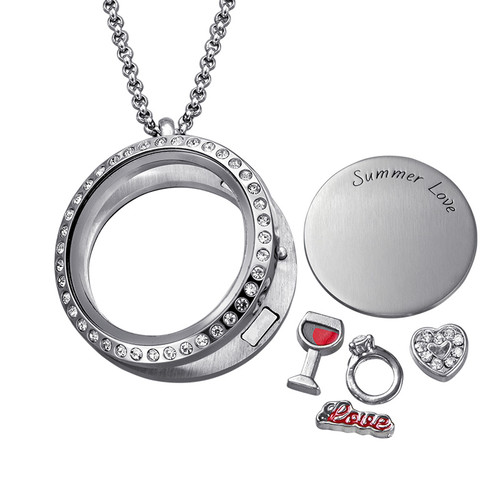 Summer Love Floating Locket - 1